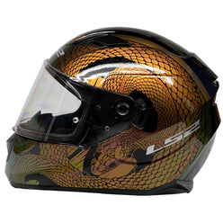 LS2 Stream Snake Full Face Adult Street Helmets