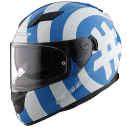 LS2 Stream Hashtag Full Face Adult Street Helmets