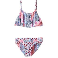 O'Neill Cruz Ruffle Youth Girls Two Piece Swimwear (BRAND NEW)