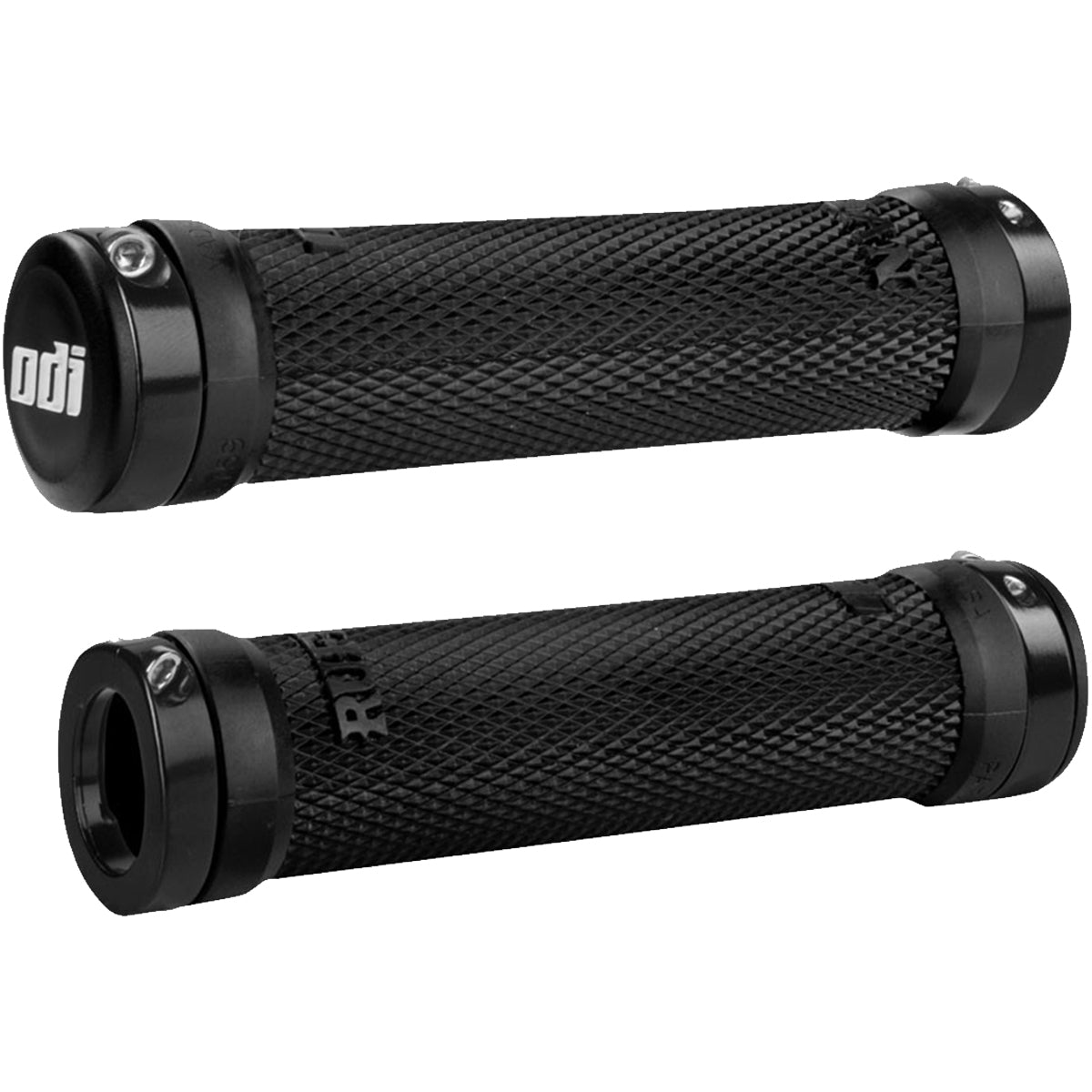 ODI 130mm Ruffian Lock-On Bonus Pack Off-Road Hand Grips-D30RFB