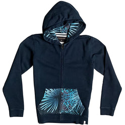 Quiksilver Decided Fate Youth Boys Hoody Zip Sweatshirts (BRAND NEW)