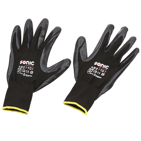 Sonic Tools Nitrile Coated Gloves-4821701