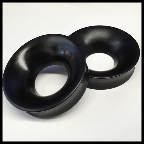 Ebony Thick Wall Tunnels