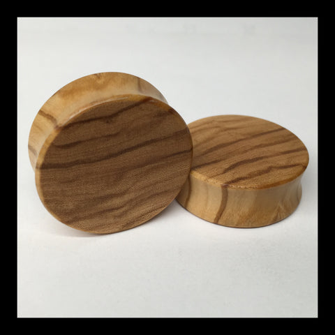 Olivewood Solid Organic Wood Plugs
