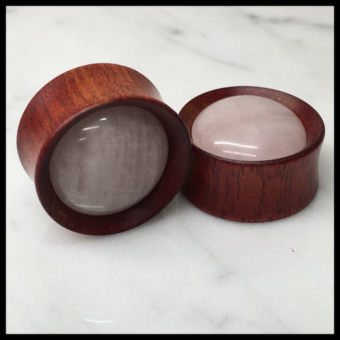 Bloodwood Rose Quartz