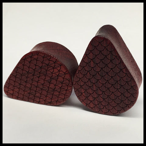 Bloodwood Scales Teardrop