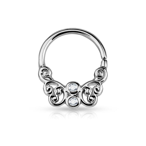 Butterfly Filigree Septum/Cartilage Rings