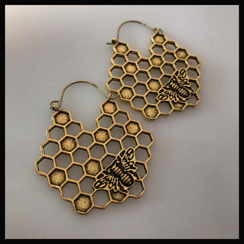 Bee mine honeycomb hangers