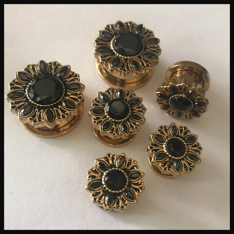 Mandala black gem Tunnels
