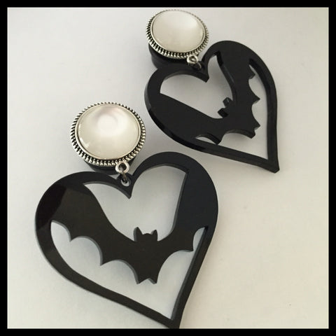 Heart Flying Bat