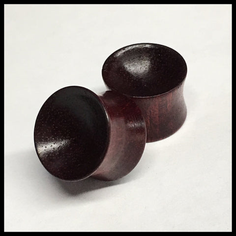 Bloodwood Concave Solids