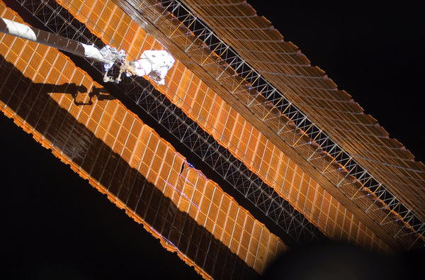 Copper plating on solar panels