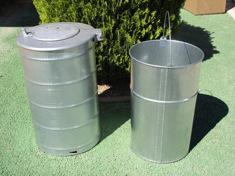 Camber Underground Trash Cans. 25 Gallon Complete Unit