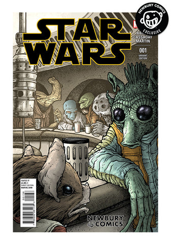 Star Wars #1 - David Petersen Exclusive Cover