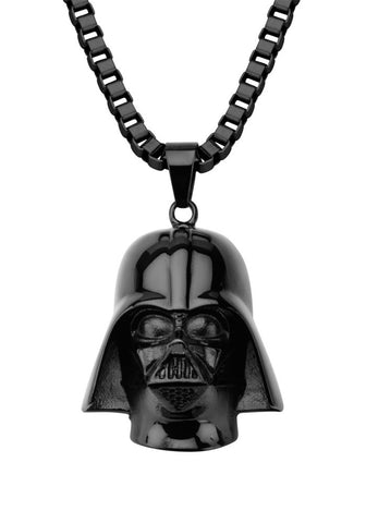 Darth Vader Stainless Steel 3D Pendant Necklace
