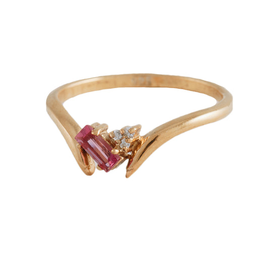 LITA - Ring with Pink Tourmaline