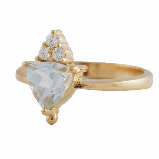 VALENTINA - Ring with Blue Topaz