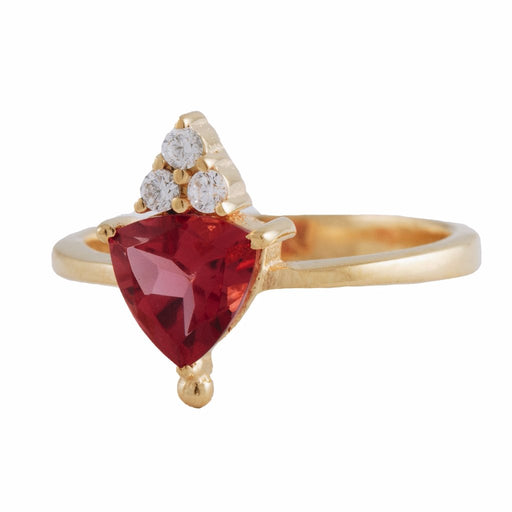 VALENTINA - Ring with Pink Tourmaline