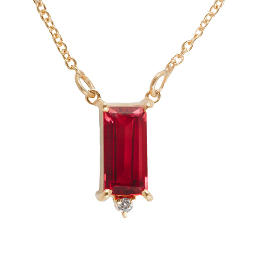 MARÉE - Necklace with Pink Tourmaline