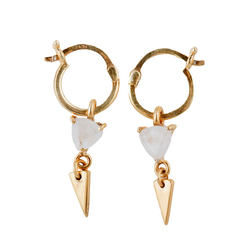 SAKKA - Earring with Moonstone