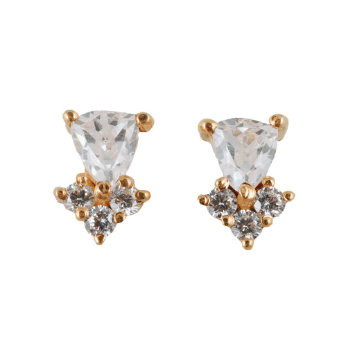 MEHVASH - Stud Earrings with Zirconia