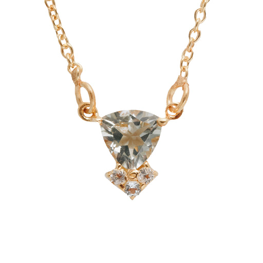 COLETTE - Necklace with Green Amethyst
