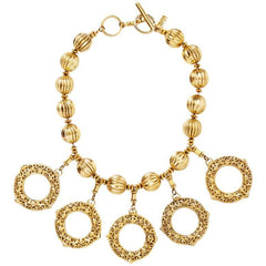 Yves Saint Laurent Circle Necklace