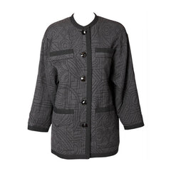 Yves Saint Laurent Quilted Jacket