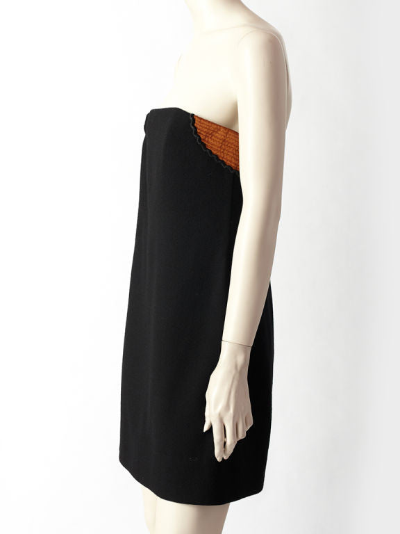 Geoffrey Beene Strapless Dress