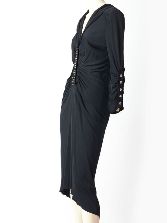 Zandra Rhodes Hooded Dress
