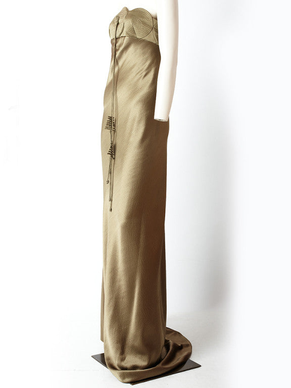 Ralph Rucci Asian Inpired Gown