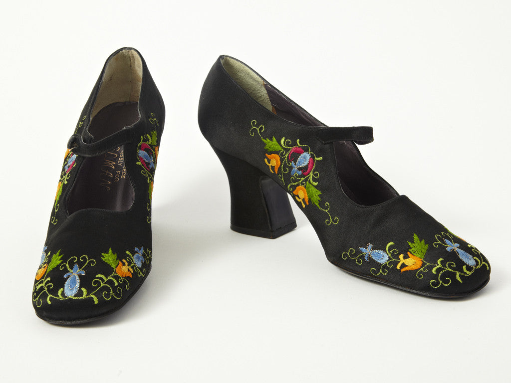 Delman Embroidered Shoes