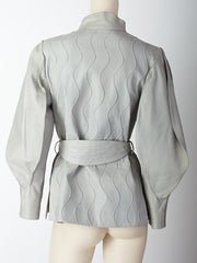 Ronaldus Shamask Leather Belted Jacket