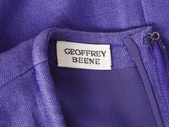 Geoffrey Beene Linen Day Dress