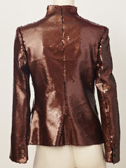 Alexander McQueen Sequined Jacket
