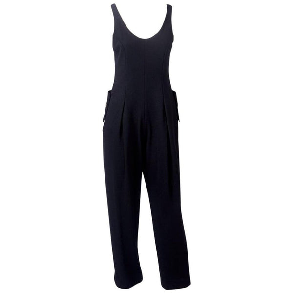 Geoffrey Beene Wool Knit Jumpsuit