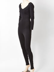 Azzedine Alaia Knit Cat Suit
