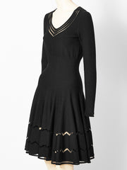 Alaia Wool Knit Dress