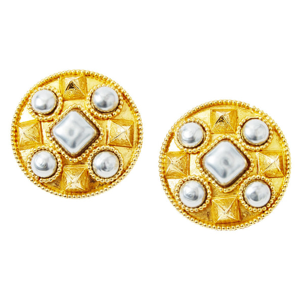 Dominique Aurientis Clip On earrings
