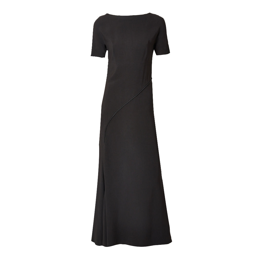 Balenciaga Le Dix Bias Cut Maxi Dress
