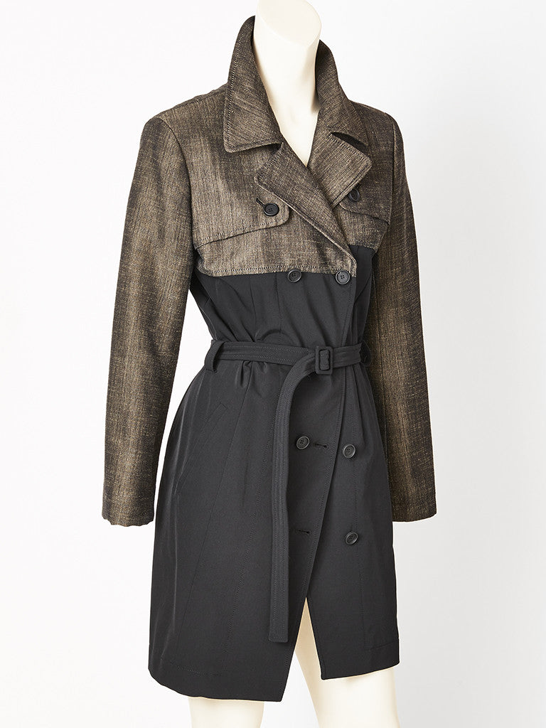Nicholas Ghesquiere for Balenciaga Fitted Trench