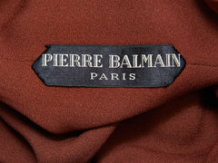 Pierre Balmain Couture Day Dress