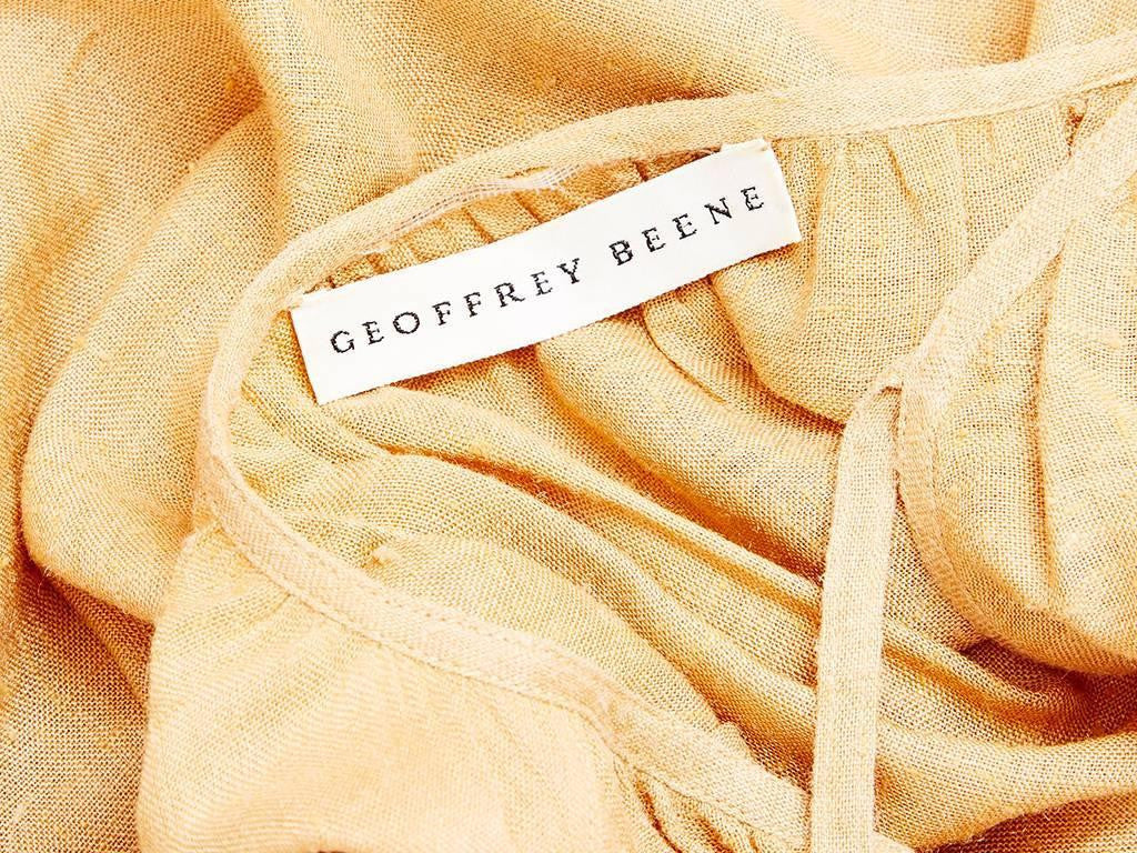 Geoffrey Beene Raw Silk Day Ensemble