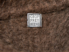 Geoffrey Beene Double Breasted Brushed  Wool Coat