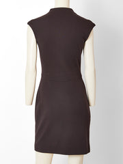 Geoffrey Beene Wool Jersey Day Dress