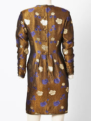 Geoffrey Beene Brocade Dress