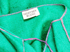 Geoffrey Beene Colorful Raw Silk Ensemble