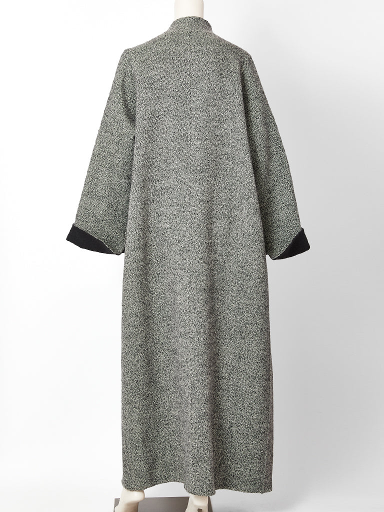 Geoffrey Beene Tweed Maxi Coat