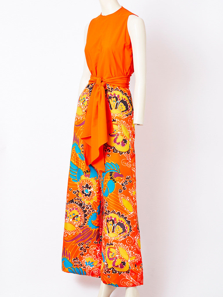 Beene Boutique Patterned Jumpsuit