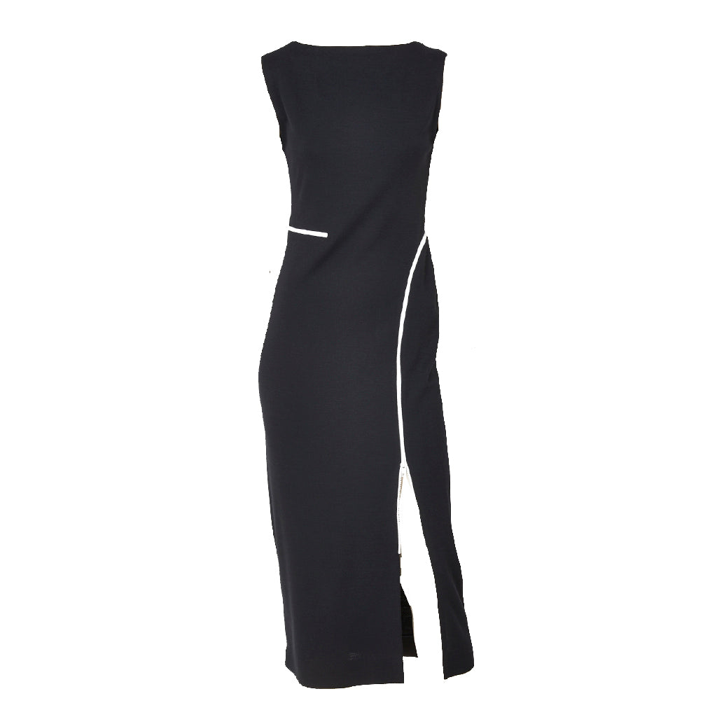 Geoffrey Beene Iconic Zipper Dress